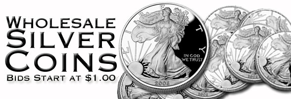 Wholesale Silver Coins Auctions